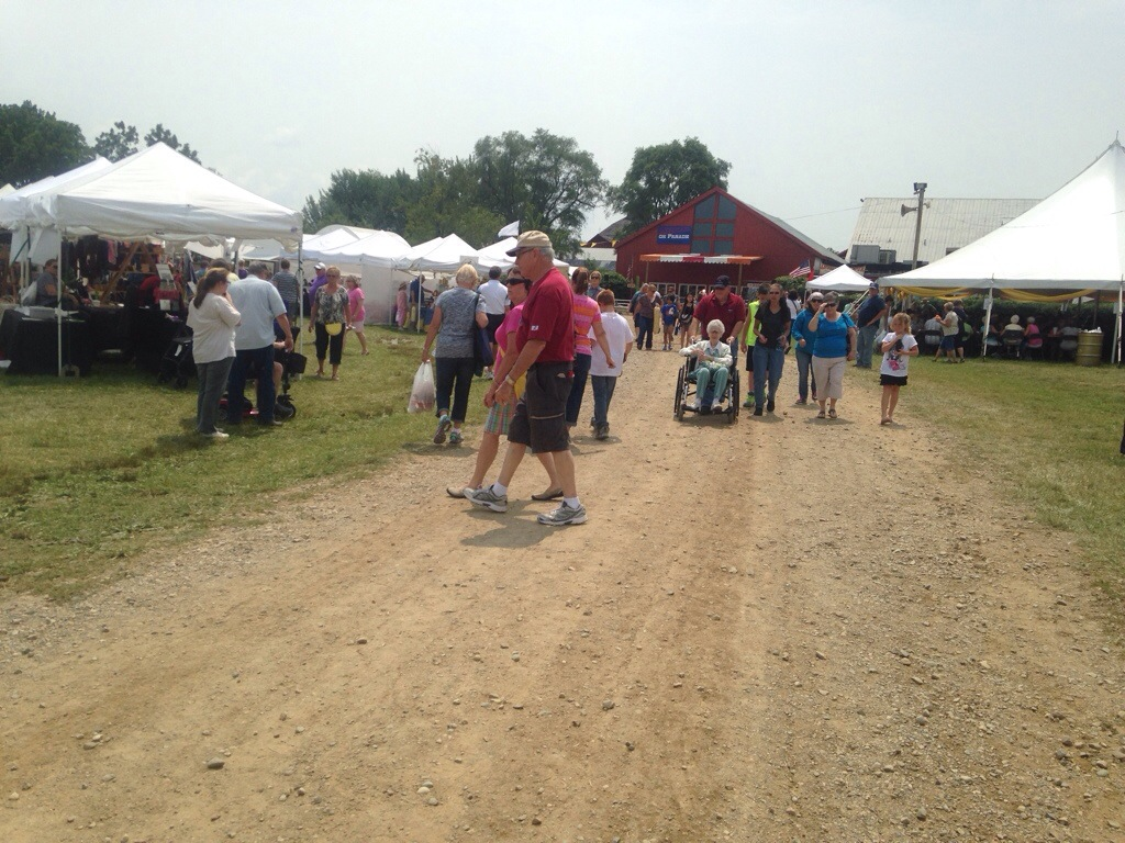 Amish Craft Fair In Nappanee In